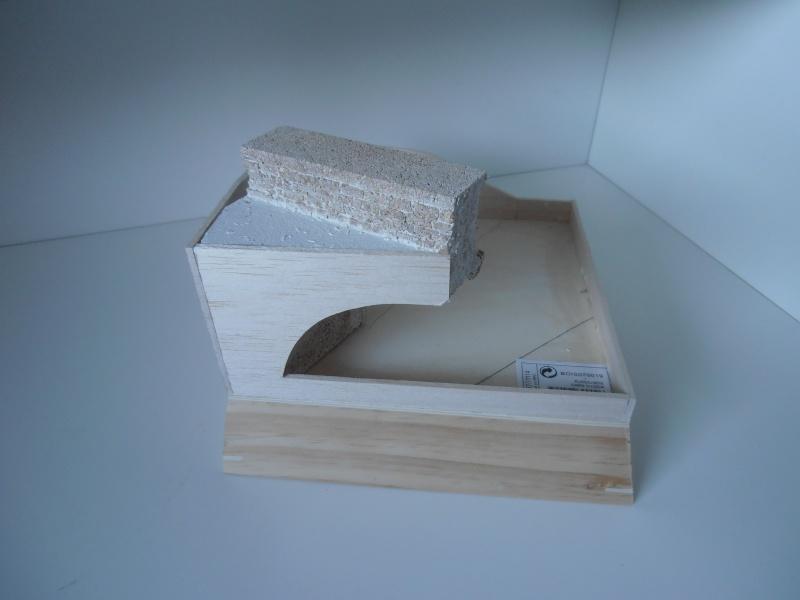 Mes ptites réalisations de pierres et de briques ( lièges, cartons plume au 1/35ème ). - Page 5 P7141215