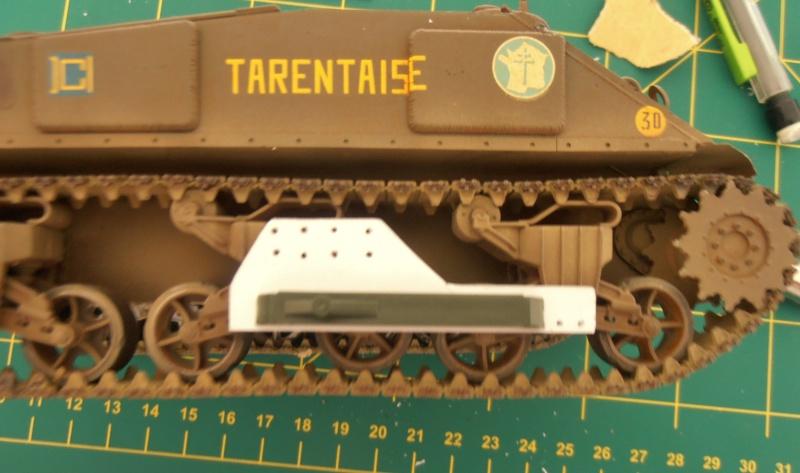 Sherman M4A3 ex dozer ( italeri, academy, eduard ) au 1/35eme P8231313