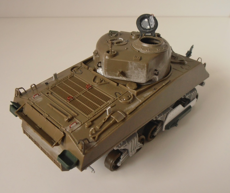 Sherman M4A3 ex dozer ( italeri, academy, eduard ) au 1/35eme P8241314