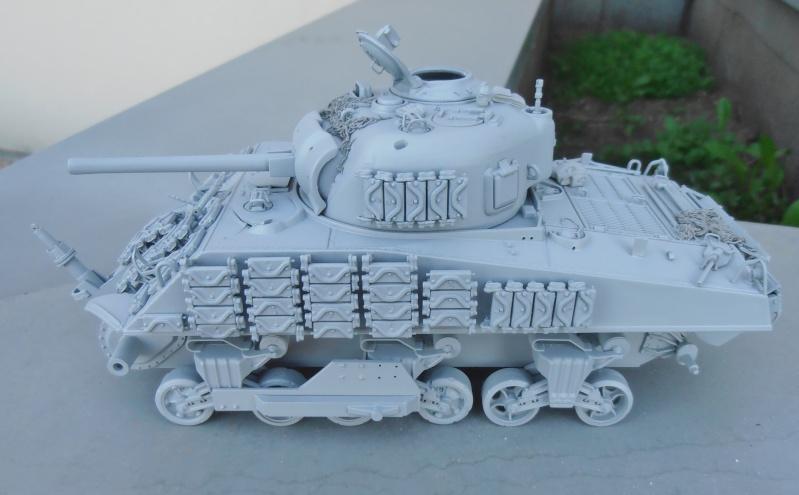 Sherman M4A3 ex dozer ( italeri, academy, eduard ) au 1/35eme - Page 2 P8251410