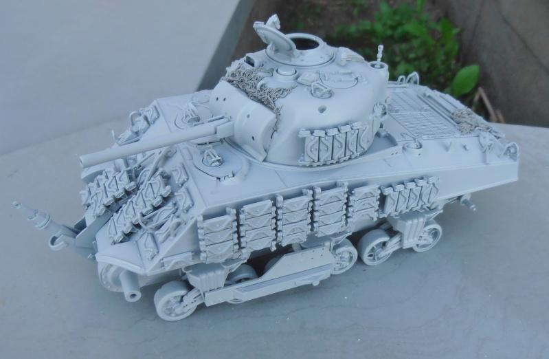 Sherman M4A3 ex dozer ( italeri, academy, eduard ) au 1/35eme - Page 2 P8251412