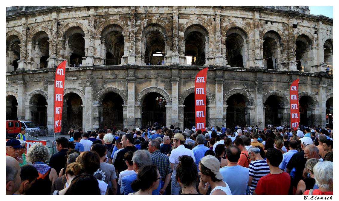 Ennio Morricone aux arènes de Nîmes Ennio010