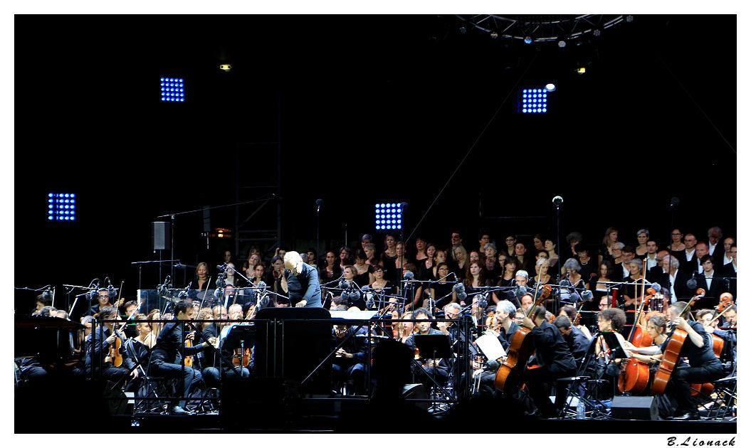 Ennio Morricone aux arènes de Nîmes Ennio011