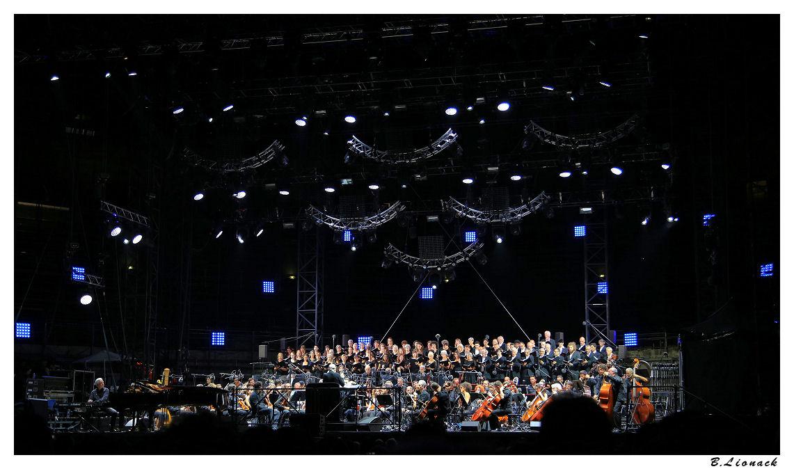 Ennio Morricone aux arènes de Nîmes Ennio013
