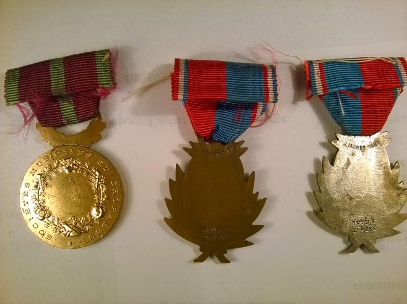 Lot 3 medailles Confederations Musicales prix baissé Wp_20120