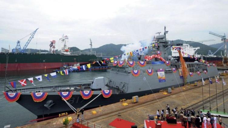 Fregates FFX et FFK Classe Oulsan Gwangj10