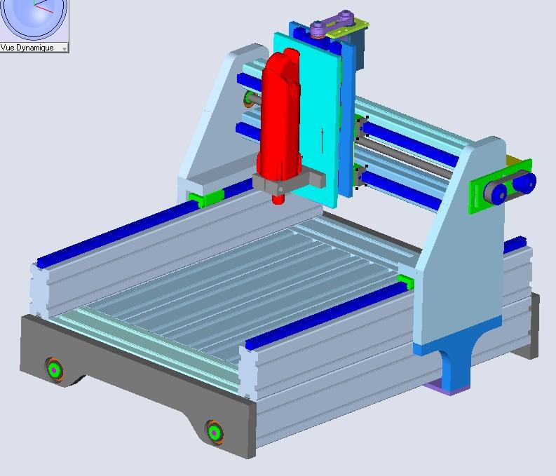 Une CNC pour Patrick A110