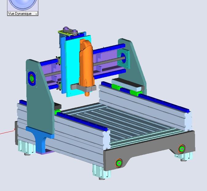 Une CNC pour Patrick - Page 4 Projet10