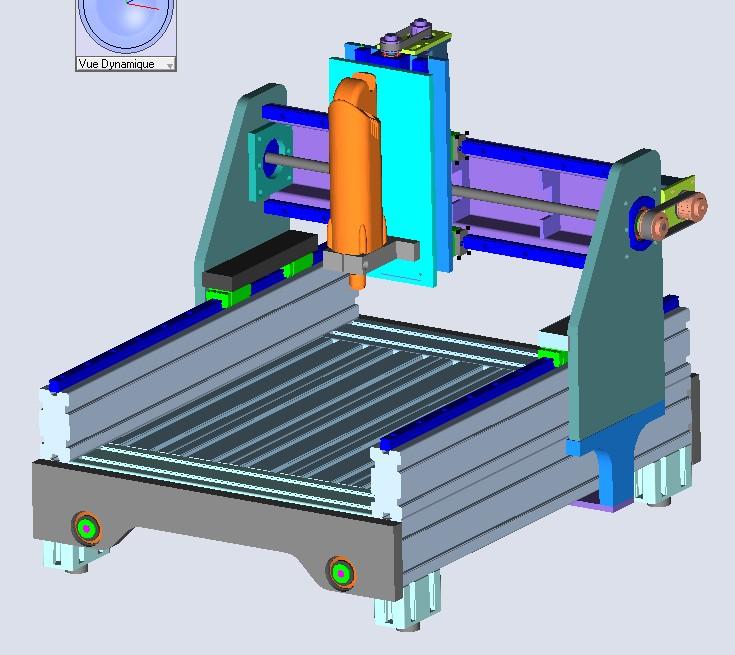 Une CNC pour Patrick - Page 4 Projet11