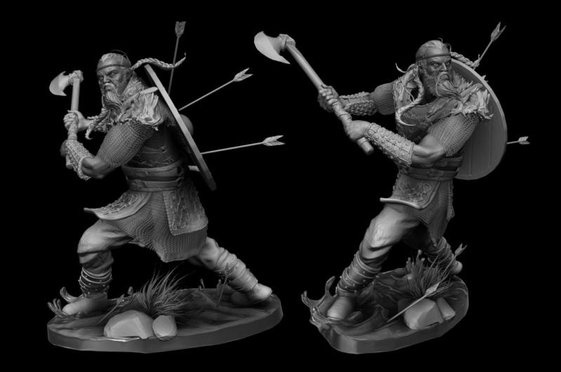 Statues et customs (créatures & Barbares) 2f10