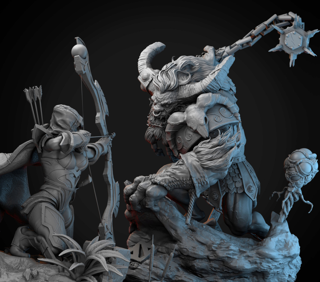 Statues et customs (créatures & Barbares) Andre-34