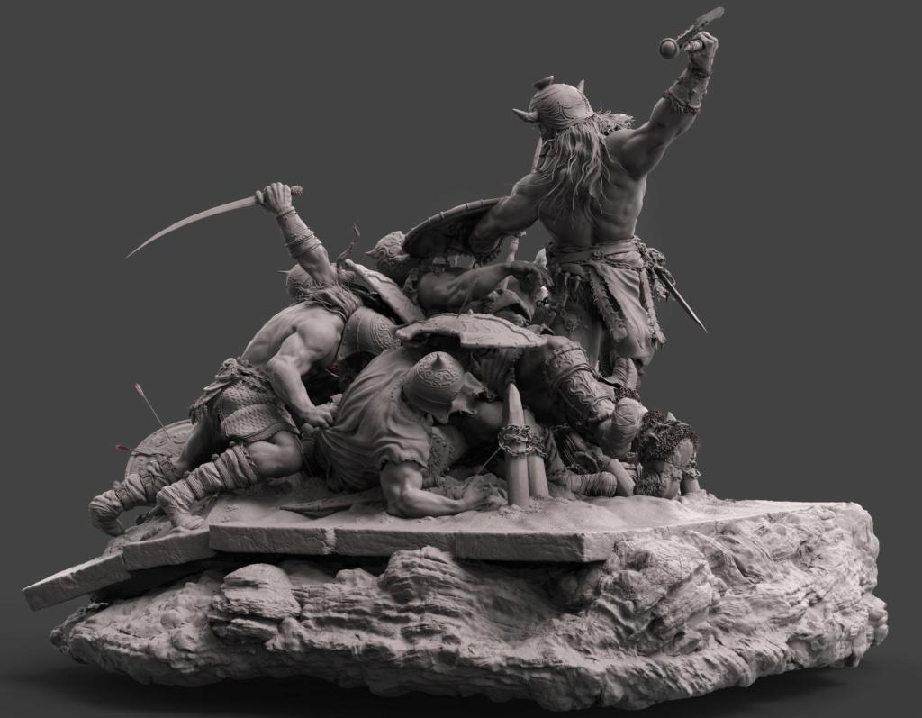 Statues et customs (créatures & Barbares) - Page 2 Conan_17