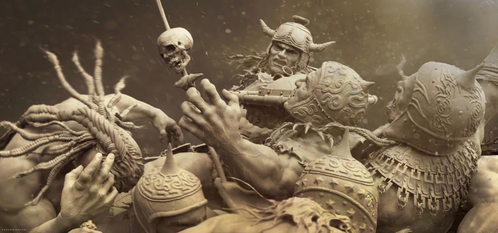 Statues et customs (créatures & Barbares) - Page 2 Conan_20