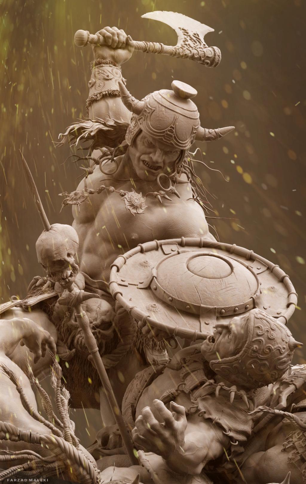 Statues et customs (créatures & Barbares) - Page 2 Conan_21