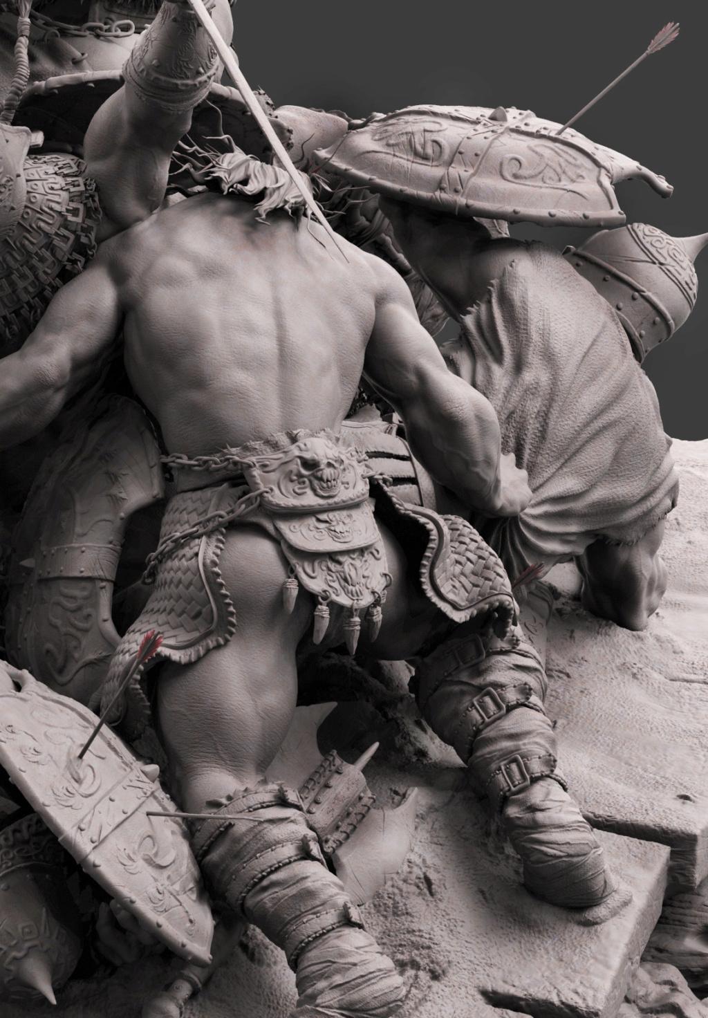 Statues et customs (créatures & Barbares) - Page 2 Conan_22