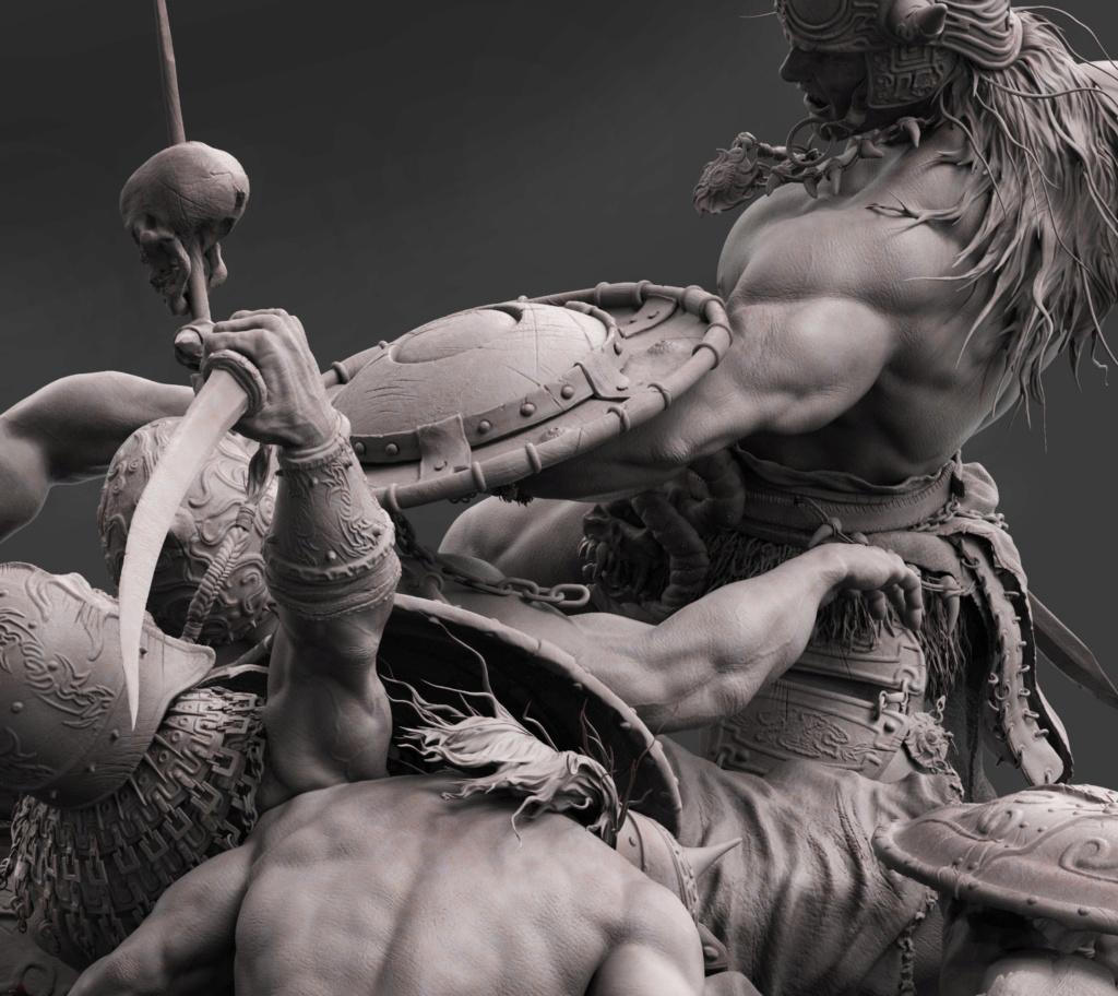 Statues et customs (créatures & Barbares) - Page 2 Conan_24
