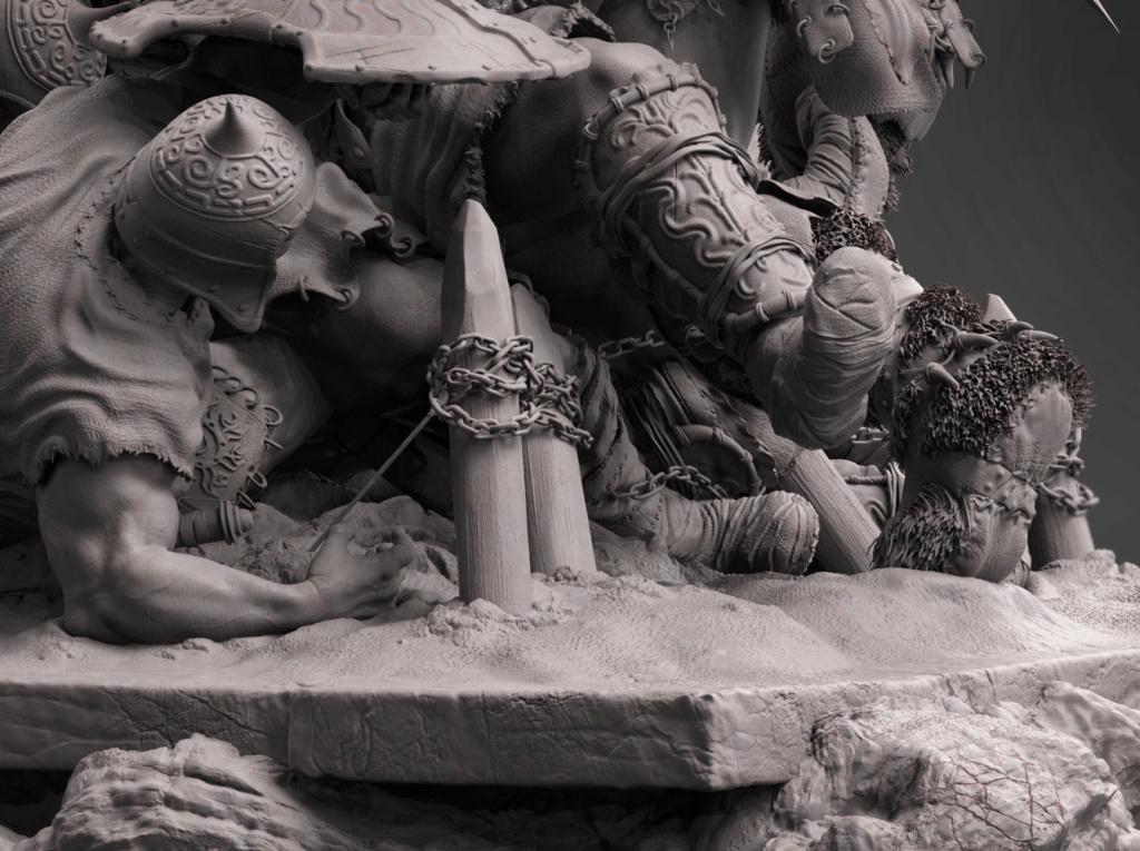 Statues et customs (créatures & Barbares) - Page 2 Conan_25