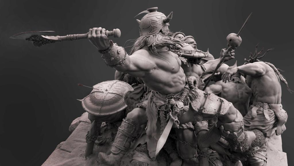 Statues et customs (créatures & Barbares) - Page 2 Conan_26