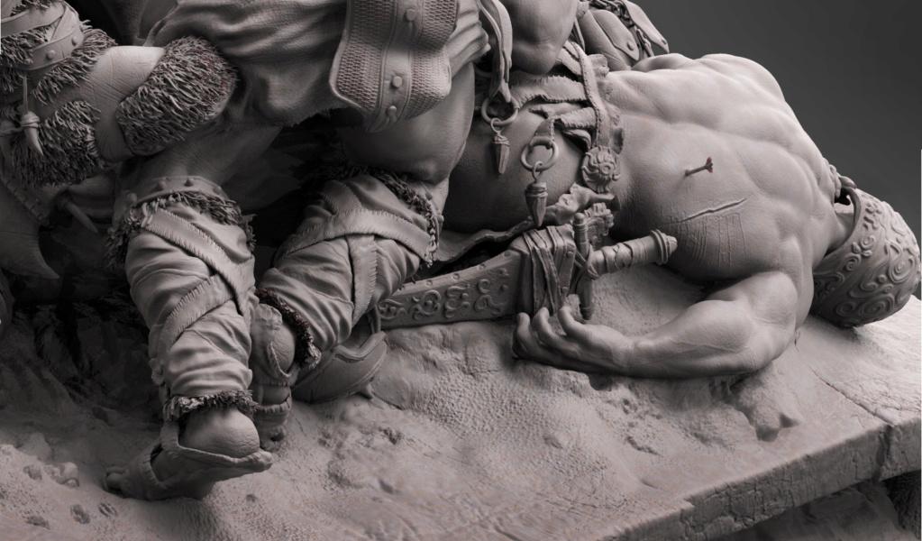 Statues et customs (créatures & Barbares) - Page 2 Conan_27