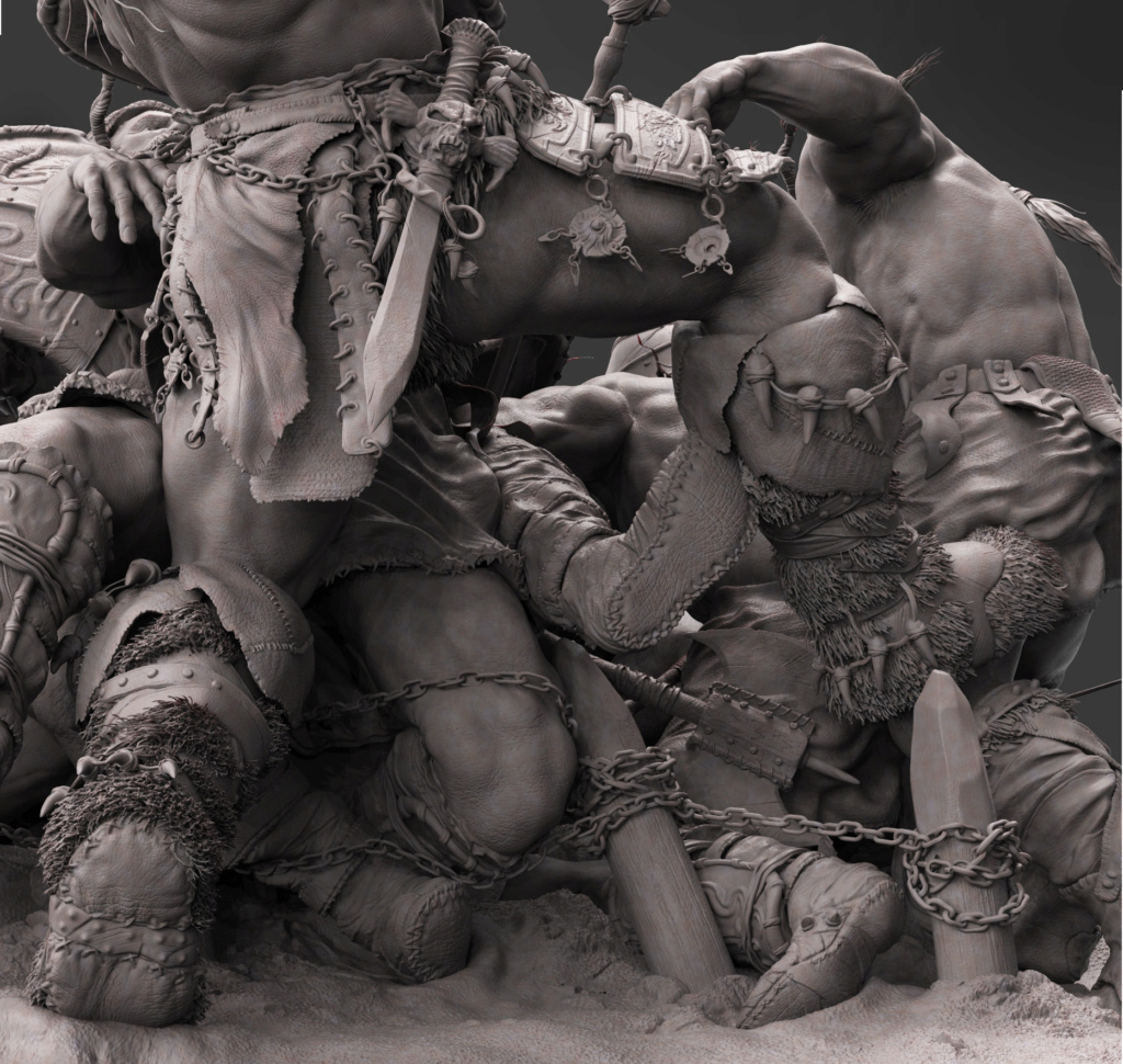 Statues et customs (créatures & Barbares) - Page 2 Conan_28