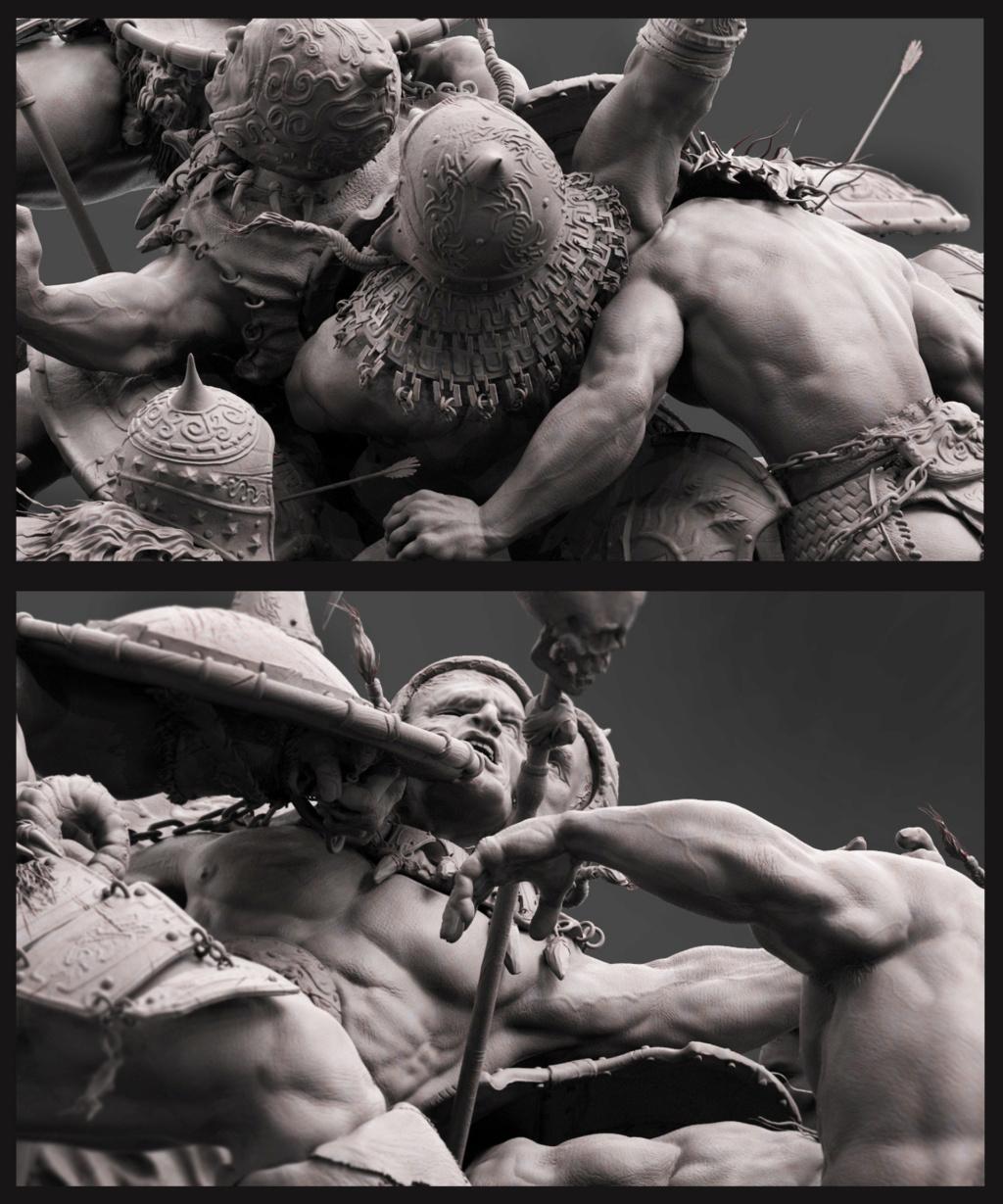 Statues et customs (créatures & Barbares) - Page 2 Conan_29