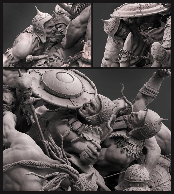 Statues et customs (créatures & Barbares) - Page 2 Conan_30