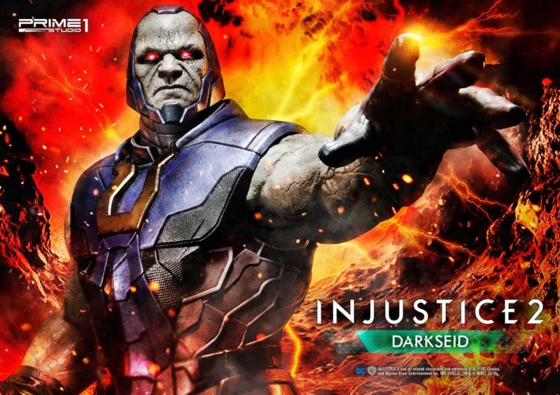DC Comics -  Darkseid  Injustice II   1/4 Darkse15