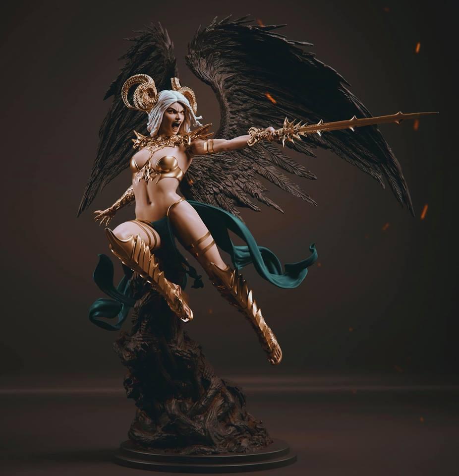 Statues et customs (créatures & Barbares) Legion10