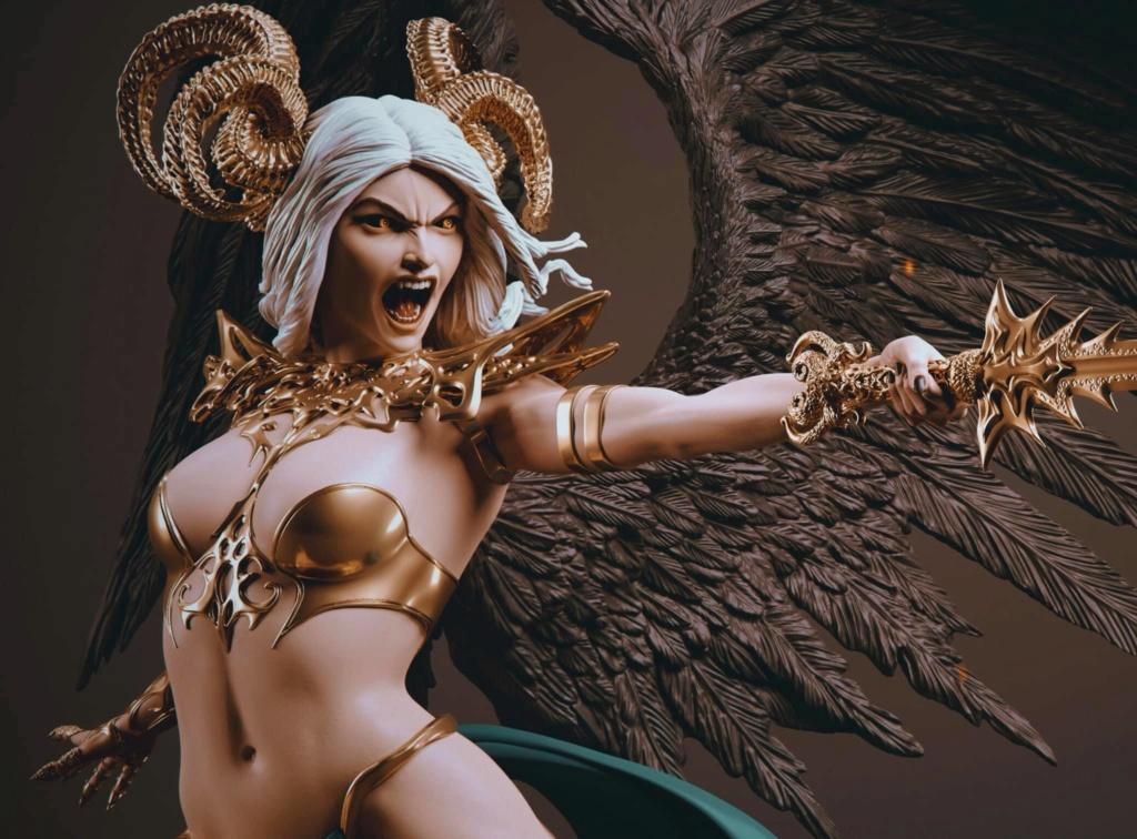 Statues et customs (créatures & Barbares) Legion11