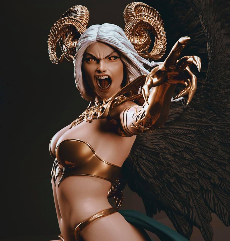 Statues et customs (créatures & Barbares) Legion13