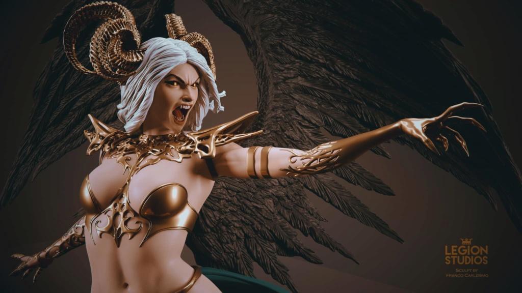 Statues et customs (créatures & Barbares) Legion14
