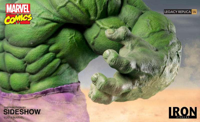HULK LEGACY REPLICA 1/4 - MARVEL COMICS (EXCLUSIF) Marvel79