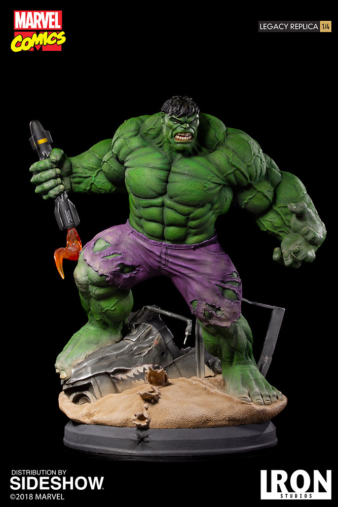 HULK LEGACY REPLICA 1/4 - MARVEL COMICS (EXCLUSIF) Marvel91