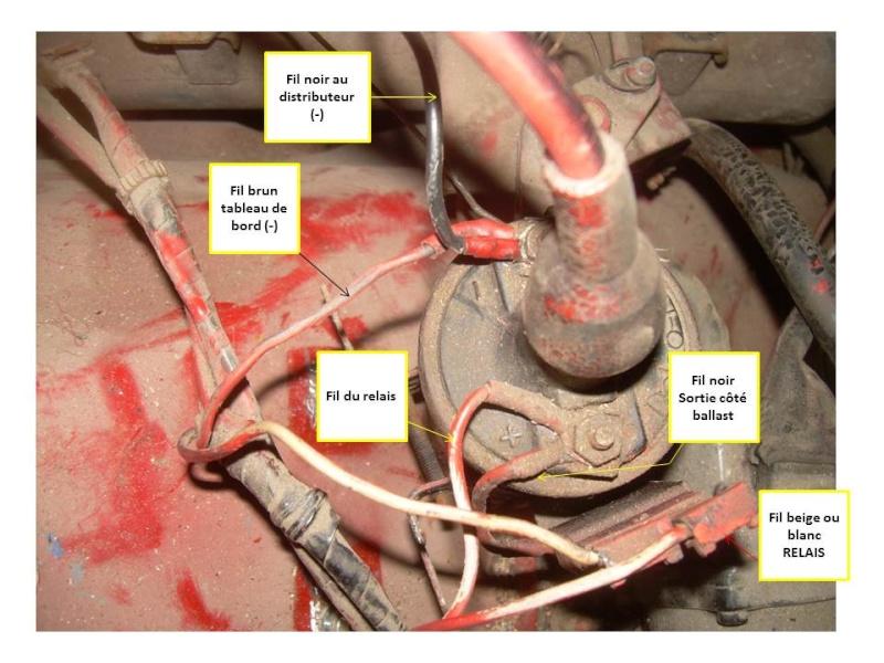 Branchement Ballast de bobine Alluma11