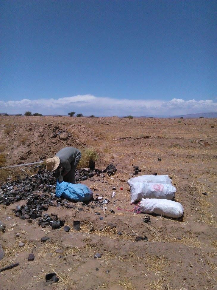 Tri de déchets au camping Serdrar à TAZZARINE (Zone 7) 11270510