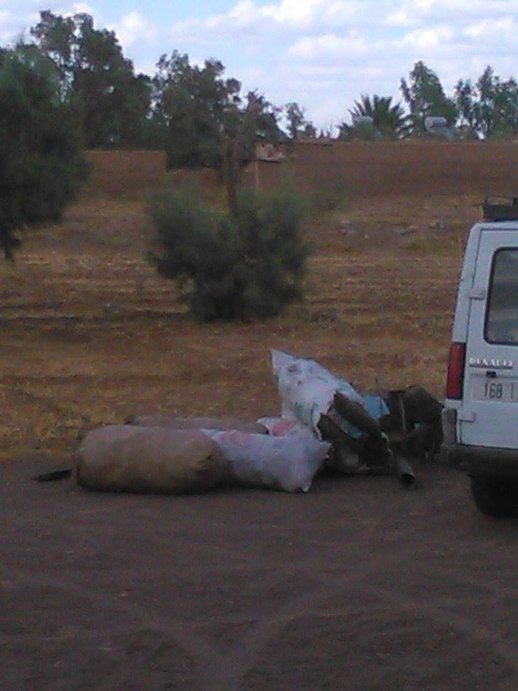 Tri de déchets au camping Serdrar à TAZZARINE (Zone 7) 11416310