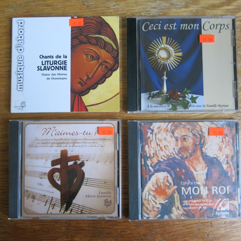 Liste de livres spirituels catholiques à vendre ! 00110