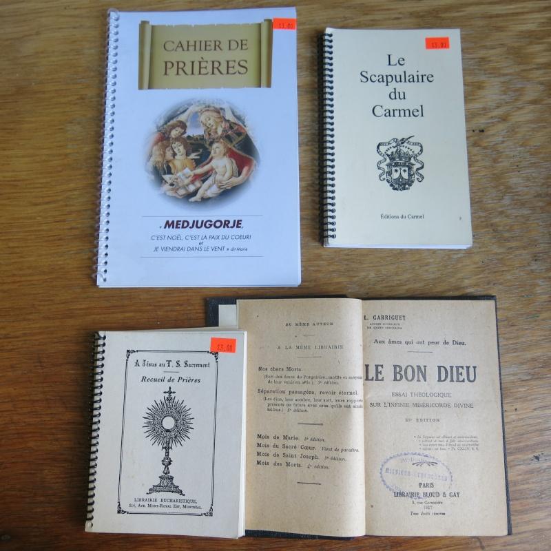Liste de livres spirituels catholiques à vendre ! 00111