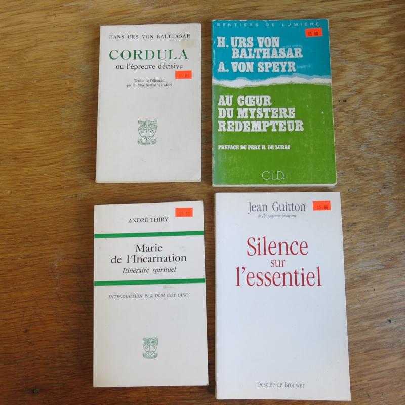 Liste de livres spirituels catholiques à vendre ! 00113