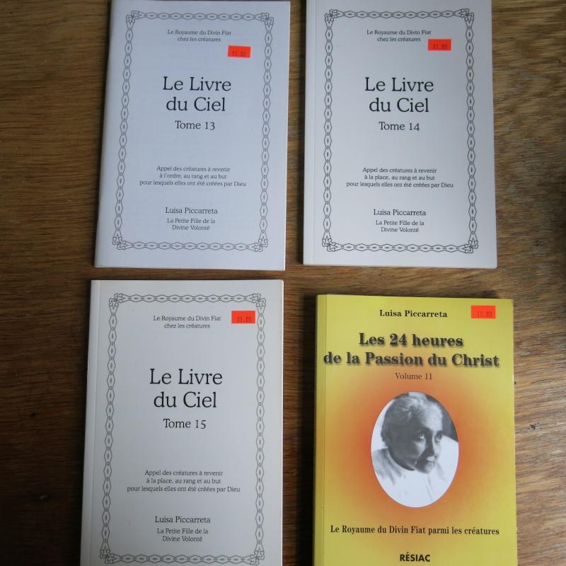 Liste de livres spirituels catholiques à vendre ! 00212
