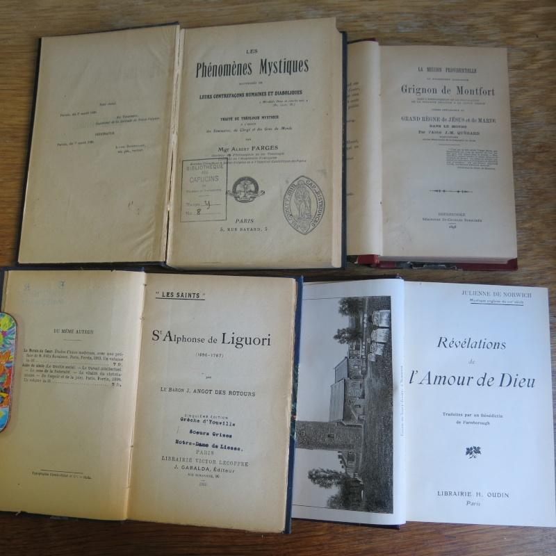 Liste de livres spirituels catholiques à vendre ! 00314