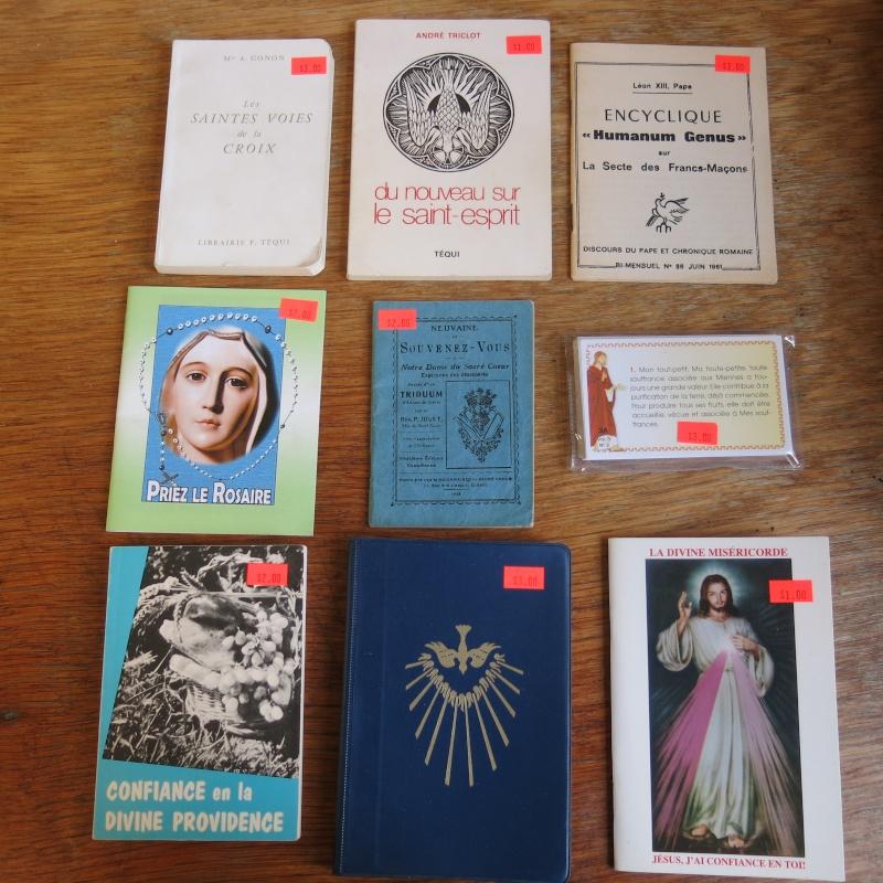 Liste de livres spirituels catholiques à vendre ! 00411