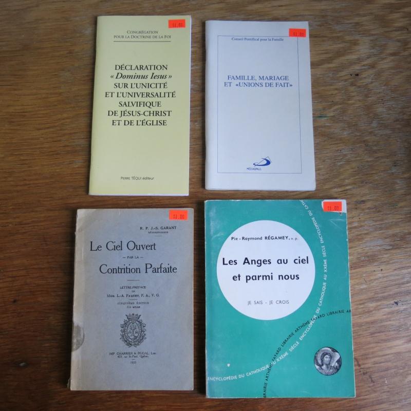 Liste de livres spirituels catholiques à vendre ! 00412