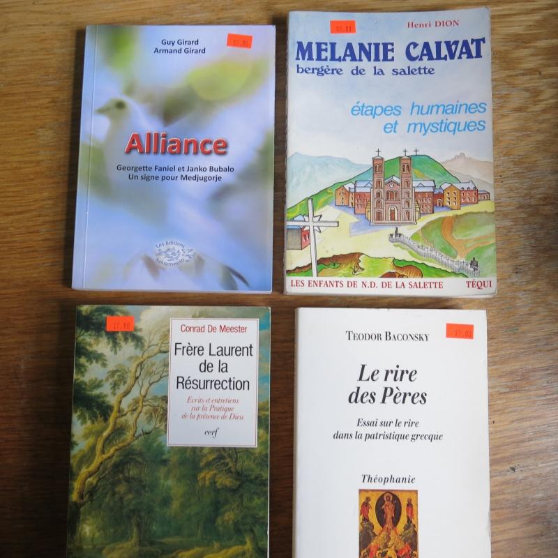 Liste de livres spirituels catholiques à vendre ! 00413