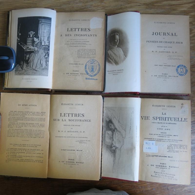 Liste de livres spirituels catholiques à vendre ! 00414