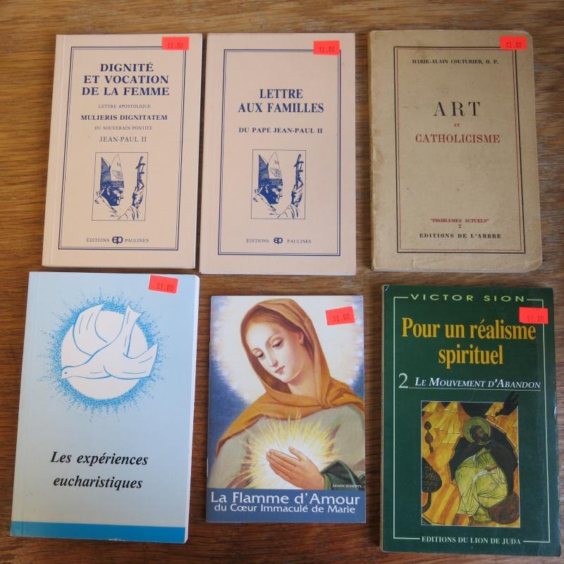 Liste de livres spirituels catholiques à vendre ! 00511