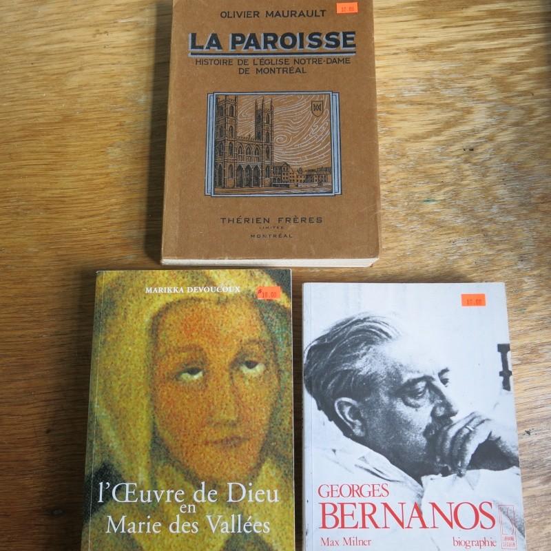 Liste de livres spirituels catholiques à vendre ! 00514