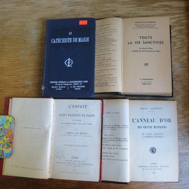 Liste de livres spirituels catholiques à vendre ! 00515