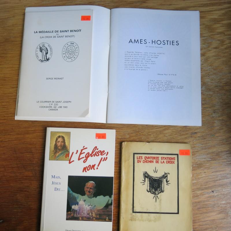 Liste de livres spirituels catholiques à vendre ! 00612