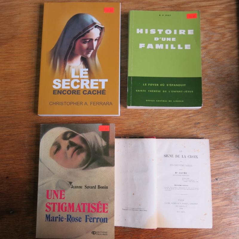 Liste de livres spirituels catholiques à vendre ! 00613